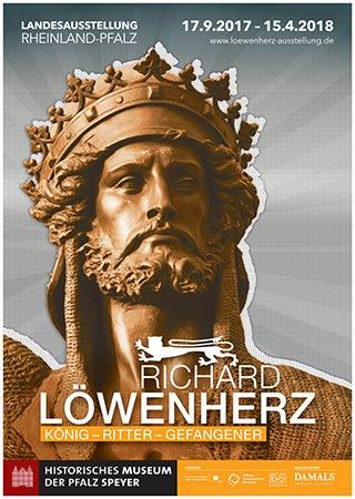 Richard Löwenherz Ausstellungsplakat Speyer