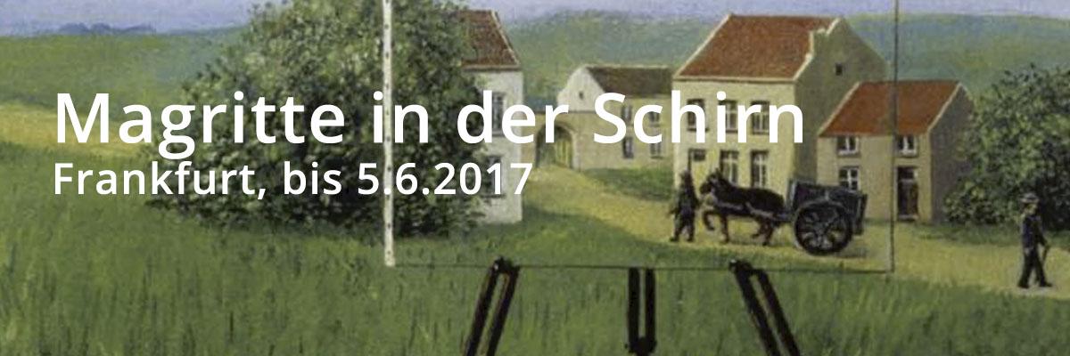 Magritte Ausstellung in der Schirn, Frankfurt