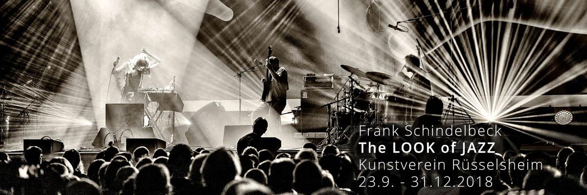 Jazzfotografie Frank Schindelbeck beim Kunstverein Rüsselsheim