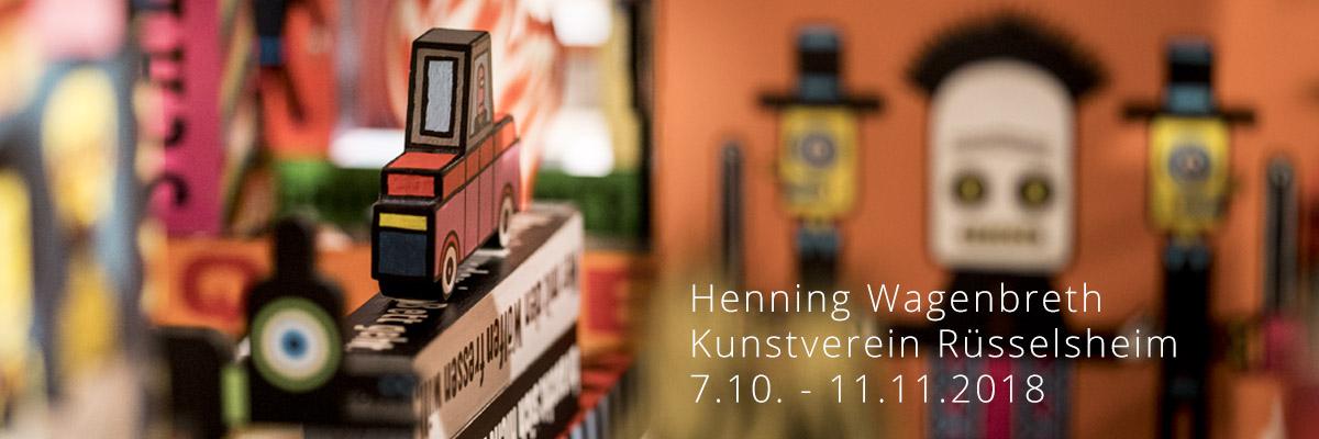 Henning Wagenbreth Ausstellung Kunstverein Rüsselsheim
