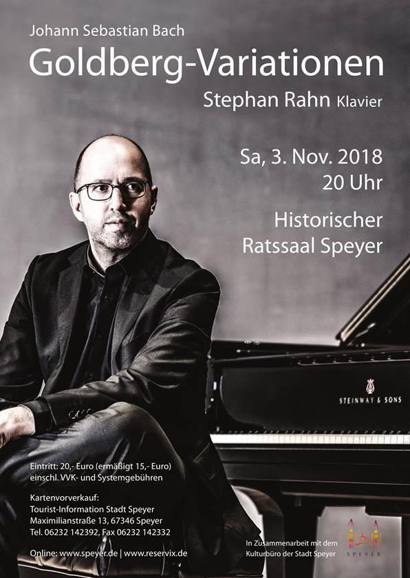 Stephan Rahn Konzertplakat