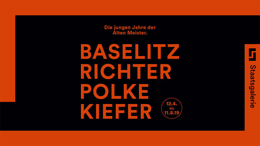 Staatsgalerie Stuttgart Ausstellung Baselitz - Richter - Polke Kiefer 2019