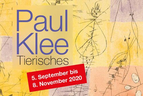 Paul Klee. Tierisches - Ausstellung Kunstforum Ingelheim